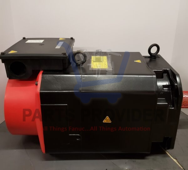 Side View of FANUC A06B-0857-B100 Spindle Motor